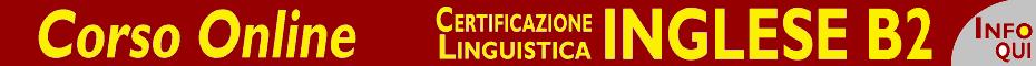 certificazione inglese