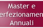 master e diplomi di perfezionamenti annuali