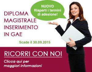 Riaperti i termini di adesione al ricorso diploma magistrale per l'inserimento in GAE!