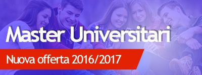 master universitari post laurea 2016