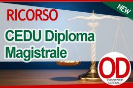 CEDU diploma magistrale