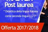 master Didattica della Lingua Italiana come lingua seconda (L2)