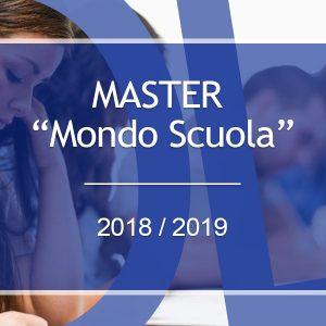 Master mondo scuola