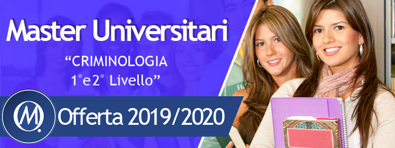 Master in criminologia