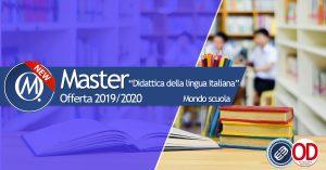 Master didattica della lingua italiana come seconda lingua L2
