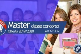 Master per il completamento della classe di concorso A11 A12 A13 A22