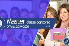 Master per il completamento della classe di concorso A18