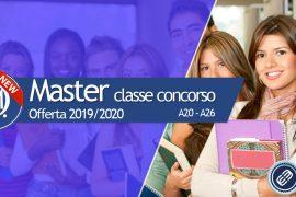 Master per il completamento delle classi di concorso A20 e A26