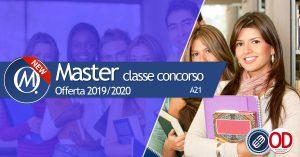 Master per il completamento della classe di concorso A21
