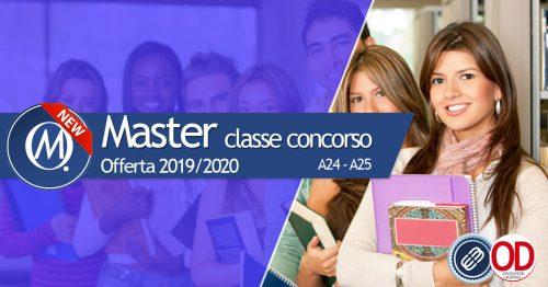 Master per il completamento della classe di concorso A24 e A25