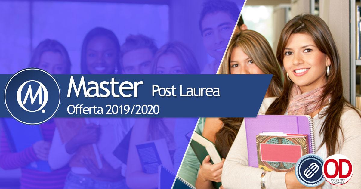 Master post laurea eCampus