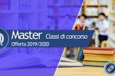 Master per il completamento della classe di concorso