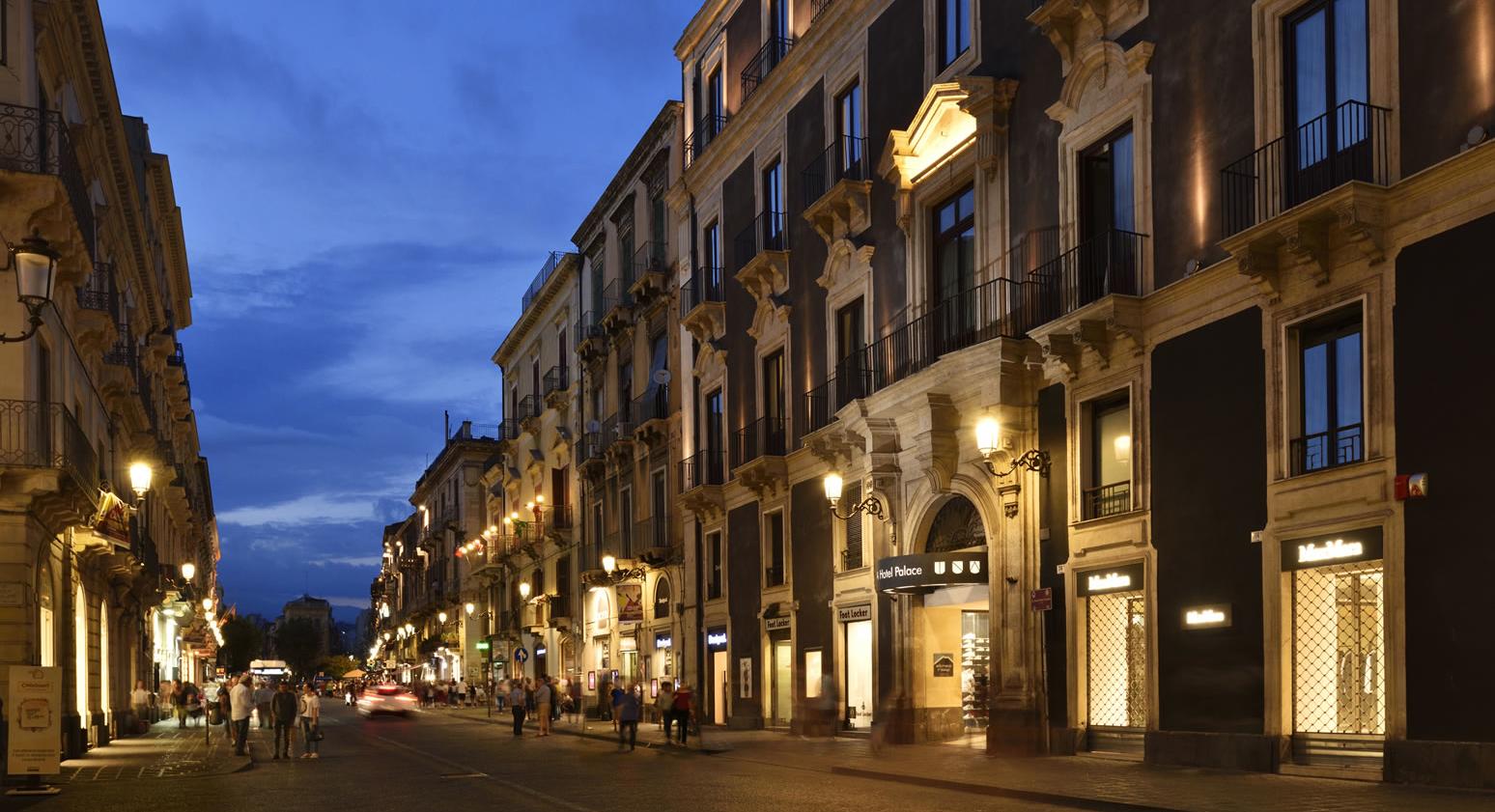 Catania via etnea