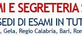 40 Sedi di esami eCampus in tutta Italia