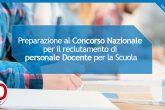 preparazione al concorso nazionale personale docente