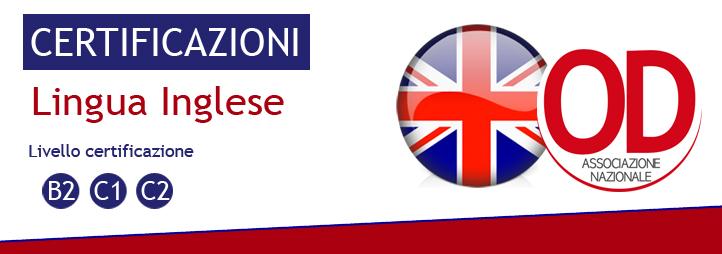 Certificazioni Linguistiche lingua Inglese