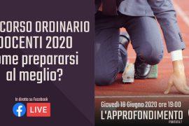 concorso ordinario docenti 2020: come prepararsi al meglio