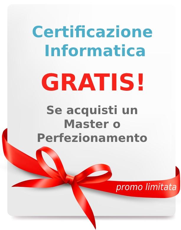 certificazione informatica gratis