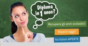 diploma, recupera gli anni scolastici