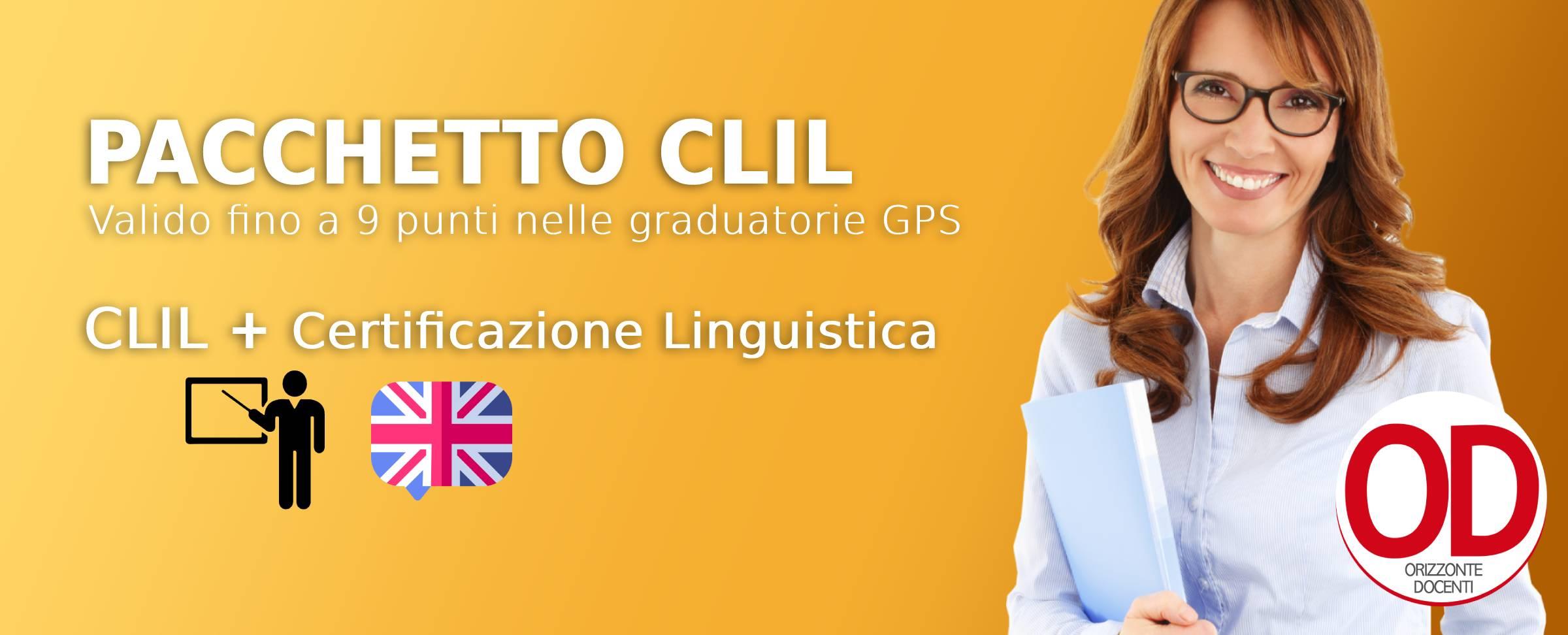 clil + certificazione linguistica