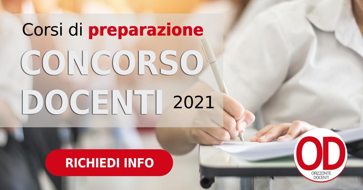 corsi di preparazione concorso docenti 2021