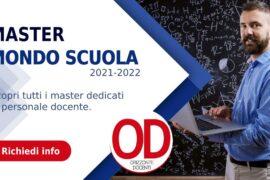 master mondo scuola 2021-2022