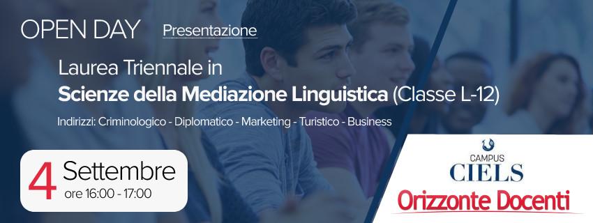 laurea triennale scienze della mediazione linguistica