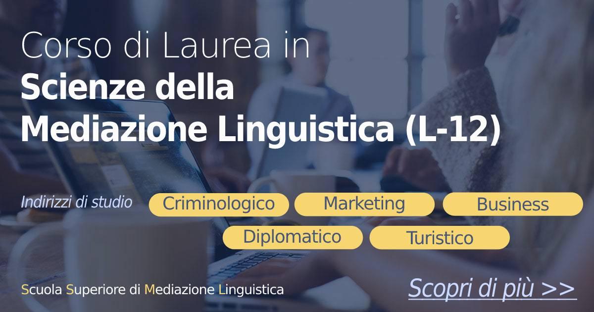 scuola superiore di mediazione linguistica