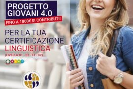 progetto giovani 4.0 certificazione inglese